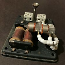 1920 VERY RARE MERCURY TYPE ELECTRICAL ANTIQUE SWITCH COLLECTIBLE NOT USED