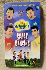THE WIGGLES SPACE DANCING Children's Vhs Video Tape HIT Entertainment Music VGC