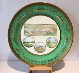 Large Minton Charger - Hand Painted by W R Tipton