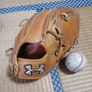 Under Armour Softball Glove Adult Size Right Throw Tan Pitcher QBB0083(J)