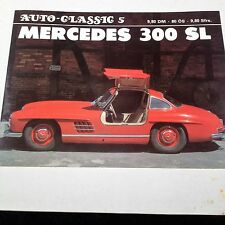 Mercedes-Benz 300 SL, Auto Classic 5, soft-cover booklet, autographed, 48 pages