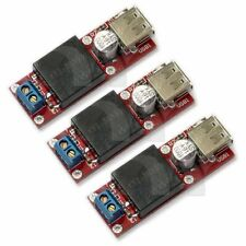 3 pcs KIS3R33S 5V USB DC 7V-24V to 5V 3A Step-Down Buck Module For Phone MP3 MP4