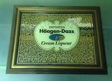 Haagen Dazs Creame Liquor wall mirror- liquor store issued