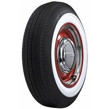 "560-15 Firestone Deluxe Champion 2 3/4"" White Wall Bias Ply Tire VW Beetle"
