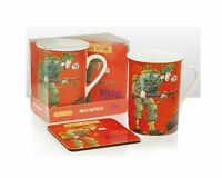 Horrible Histories 'Woeful Second World War' Mug With Coaster Brand New Gift