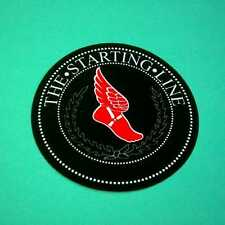 THE STARTING LINE WING FOOT BLACK RED ROUND GUITAR CASE RARE PROMO STICKER