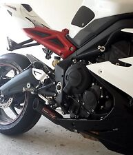 Coffman Shorty Exhaust: Triumph  Daytona 675/R  2013-16