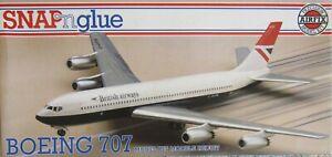 Airfix 1/144 British Airways Boeing 707-436 with Fowler El Al decals