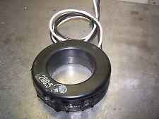 INSTRUMENT TRANSFORMER 56 RL-201 CURRENT TRANSFORMER RATIO 200:5A 600V 50-400Hz