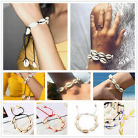 Fashion Women Boho Sea Shell Anklet Bracelet Summer Beach Ankle Foot Jewelry