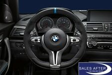 BMW M Performance F80 M3 F82 F83 M4 F87 M2 Lenkrad Pro Alcantara ohne Blende