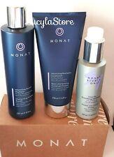 MONAT Hair Set 3Pcs Volume Revive Shampoo + Revitalize Conditioner +Primer Frizz