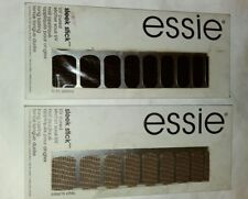 2-Essie SLEEK STICK UV CURED NAIL APPLIQUE IN A TO ZEBRA & CROC'N CHIC
