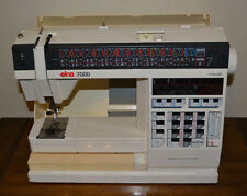 "Elna 7000 ""Computer"" Sewing Machine - Partially Tested & Works"