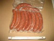 10 x Pferdewurst Kochwurst Kabanossi Grillwurst geräuchert natürliche Haltung 3