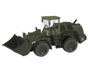 Schuco 26529 - 1/87 Liebherr Radlader 550 German Military - New