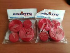 2 BENOTTO RED Handlebar Tape Cello Bar packs Vintage Bicycle New FREE SHIPPING