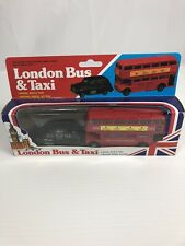 London Bus And Taxi Model Wheel Action Minature