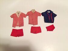 Vintage Ken Doll Original Swimsuit Lot