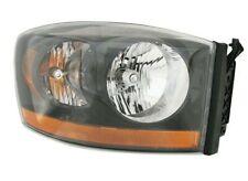Passenger Right Genuine Headlight Headlamp Black Bezel For Dodge Ram 1500 2006