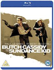 Butch Cassidy and The Sundance Kid Blu-ray 1969 DVD Region 2