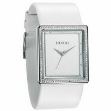 Nixon Portrait Watch - Women's Crystal/White, One Size