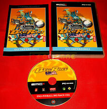 PRO PINBALL BIG RACE USA PC Versione Italiana Economica ○○ USATO - ER