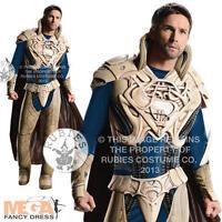 Deluxe Jor-El Mens Fancy Dress Superman Man of Steel Superhero Adults Costume