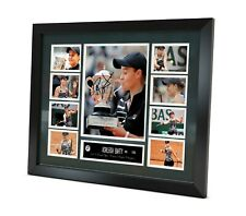 Ash Barty Signed Memorabilia 2019 French Open Limited Edition Framed