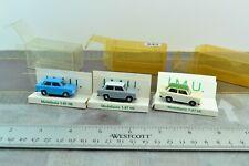 IMU 3X Trabant 601 East Germany Cars 1:87 Scale HO (HO643)