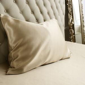 Jasmine Silk Pure Silk Pillowcase Taupe