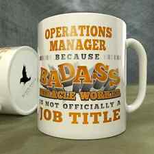 Operations Manager | Because Badass Miracle Worker is Not...a Job Title - Mug