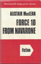 Force 10 from Navarone by Alistair MacLean 1975, Hardcover, Large Type Print