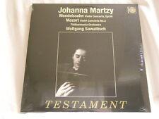 JOHANNA MARTZY Mendelssohn Mozart Sawallisch 180 gram vinyl NEW SEALED LP