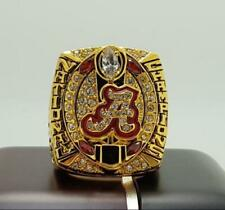 NCAA 2015 Alabama Crimson Tide National Football Championship Ring 8-14Size