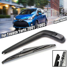 Rear Wiper Arm & Blade Toyota Yaris 2001-2005 Japan made models Rears Arm Blade.