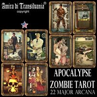 apocalypse tarot card cards deck major arcana horror zombie oracle rare vintage