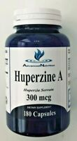 Huperzine A 300mcg 180 Capsules  Supports Memory Health NEW USA