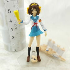 #9B7029 Japan Anime Action Figure figma The Melancholy of Haruhi Suzumiya
