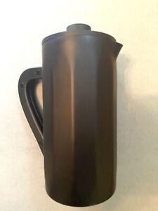 2017 Starbucks Barista French Press Coffee Maker stainless 34oz 1 Liter Black