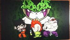 Dragon Ball Z (DBZ) Playmat. Cell, Yamcha, Android 16, Master Roshi.