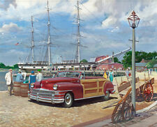 1947 Chrysler Mystic Seaport, Mystic, Connecticut  14 x 11 Photo Print