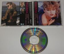 Madonna Material Girl Japan Single Compact Disc with Inserts Excellent WPCP 5063