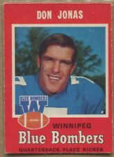 1971, O-PEE-CHEE, CFL Football, U Pick from List