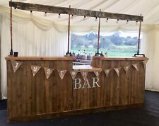 More details for rustic wedding party corporate festival event mobile drinks bar  **for hire**