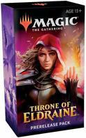 Magic The Gathering MTG Throne of Eldraine Prerelease Kit Box (6 Packs + Promo)