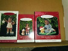 Complete Lot Of 3 Hallmark Keepsake All God's Children Collector Series