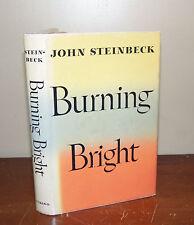Burning Bright. John Steinbeck. 1950. 1st/1st. Dust Jacket.