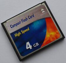 4 Go Carte Mémoire Compact Flash pour Olympus E330