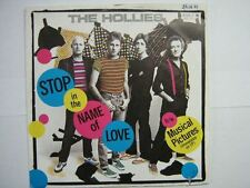 THE HOLLIES 45 TOURS GERMANY STOP IN THE NAME OF LOVE